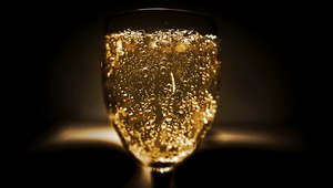Enjoy a glass of bubbles